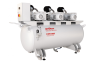 Central Vacuum Supply Systems -- CVS 1000 (3 x SV 300 B) -- View Larger Image