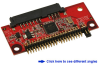 "SATA-to-2.5"" 44-pin IDE Device Mini Adapter -- ASA101"