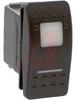 Switch, Rocker, V SERIES, Lighted, SPDT, ON-OFF-ON -- 70131621