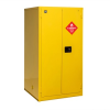 PIG Vertical Drum Safety Cabinet with Rollers -- CAB744
