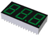 Three Digit LED Numeric Displays -- LB-603MF