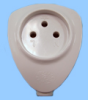 Angled Israeli Cable Connector -- 88040240 -Image