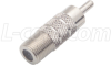 Coaxial Adapter, F Female / RCA Male -- BA907