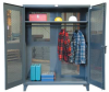 All-Vented Wardrobe Cabinet with Full Rod -- 46-VBS-241WR -- View Larger Image
