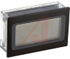 Voltmeter, 3.5 digit yel/grn backlit LCD display, 200mV, 9 pin SIL, IP65 -- 70101356
