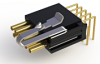 Micro SSO Series Strip Connectors - Dual Row Offset Horizontal Thru-Hole - Type H2 - Image