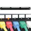 CAT5E 110 Patch Panel 24Port Rackmount w/LED Indicator -- 1022-SF-12