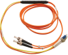 Fiber Optic Mode Conditioning Patch Cable (ST/LC), 2M (6-ft.) -- N422-02M