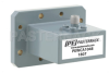 WR-137 CMR-137 Flange to SMA Female Waveguide to Coax Adapter, 5.85 GHz to 8.2 GHz, C Band, Aluminum, Paint -- PEWCA1048 - Image