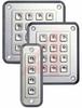 Keypad, 1000 Series, 4 Key, F1-F4, Silver Case and Key -- 70102261 - Image