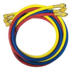 Charging Hose Set,60 In,Red,Yellow,Blue -- 4LEP3