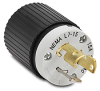 15A Electrical Plug: locking, 277VAC, NEMA L7-15 -- 4770NP - Image
