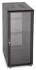 27U Server Rack, Glass Front/Vented Rear -- 1039-SF-02