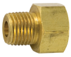 Brass Tube to Male Pipe Connector -- No. 48-IN