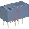 Relay;E-Mech;High Voltage;DPDT-NO/NC;Cur-Rtg 2A;Ctrl-V 5DC;Vol-Rtg 30DC;8 Pin -- 70158588 - Image