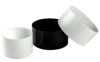 Black, Translucent & Opaque Cast Acrylic Tubes -- 44953 - Image