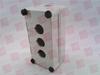 GENERAL ELECTRIC P9EPE03 ( ENCLOSURE PUSHBUTTON BOX 3HOLE PLASTIC ) -Image