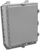 Powder Coated Steel Wallmount One Door Single Access Enclosu -- F-303008N4