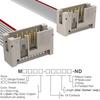 Rectangular Cable Assemblies -- M3KKK-1006J-ND -Image
