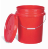 Open-Head Colored Poly Pail -- DRM815 -Image