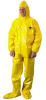 Andax Industries ChemMAX 4 C41151 Coverall - 4X-Large -- C-41151-SS-Y-4X -Image