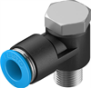 QSLV-1/8-8 Push-in L-fitting -- 153089-Image
