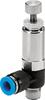 LR-10-32-UNF-QS-1/4-U Pressure regulator -- 190926