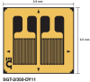 Dual Parallel Grids Strain Gage -- SGT-7/350-DY43