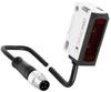 Photoelectric retro-reflective sensor, fixed focus -- FR 25-RF-NS-KM4 -- View Larger Image