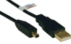 USB 2.0 Hi-Speed A to Mini-B Cable (A to 4Pin Round Mini-B M/M) 6-ft. -- U029-006