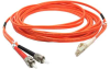 10m LC-ST Duplex Multimode 50/125 Fiber Optic Cable (32.8ft) -- 30LC-ST10 - Image