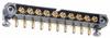 10 Pos. Male SIL Horizontal Throughboard Conn. Jackscrews -- M80-5000000M5-10-333-00-000 - Image
