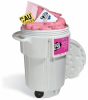 PIG HazMat Spill Kit in 95-Gallon Wheeled Overpack Salvage Drum -- KIT341 -Image