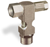 "(Formerly B1630-7X-TP), Inverted Angle Small Sight Feed Valve, 1/4"" Female NPT Inlet, 1/4"" Female NPT Outlet, Tamperproof -- B1628-333B1TW -Image"