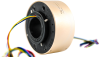 Through bore Slip Ring to Transmit Power and Data Signals -- LPT038 - Image