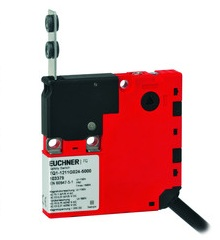 EUCHNER Design Type 2 Safety Switches are used to protect personnel by monitoring and interrupting the safety circuit depending on the position of the machine guard.