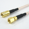 SMB Plug to SMC Plug Cable RG316 Coax in 60 Inch -- FMC1618316-60 -Image