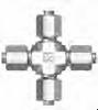 37 Flared SAE Fitting - JUC Union Cross - Image