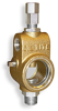 "Universal Sight Feed Valve, 1/2"" Female NPT Inlet, 1/2"" Male NPT Outlet, Tamperproof -- B2501-7 -Image"