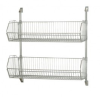 Wire Shelving - Cantilever Wall Mount Systems - Complete Packages - CAN-34-2036BC-PWB - Image