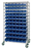 Bins & Systems - 4'' Shelf Bins (QSB Series) - High Density Wire Systems - WR74-1248-101102 - Image