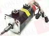 FANUC A06B-0310-B351 ( DISCONTINUED BY MANUFACTURER, SERVO MOTOR AC, 2/0SB W/BRAKE, 0.2 KW, 8 POLE, 3000 RPM, 90 V ) -Image