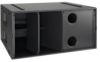Hybrid horn and reflex loaded subwoofer -- WLXGS