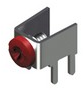 M3 PC Mount - Supplied w/Screw-Assembled -- 7762 - Image