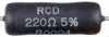 Military Grade Power Wirewound Resistor -- 100 Series - Image