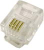 4C Modular Data Plug, 100pcs. -- 83-064 - Image