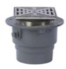 Adjustable Floor Drain with SS Strainer -- FD-1200-L