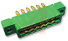connector,comm card edge,double readout,solder eyelet,.156 spacing,6 position -- 70033092 - Image