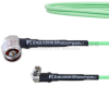 Low Loss RA N Male to RA SMA Male Cable LL160 Coax in 100 CM and RoHS -- FMCA1721-100CM -Image
