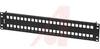 KEYCONNECT MODULAR PATCH PANEL, 48-PORT, 2U, BLACK (EMPTY) -- 70038351